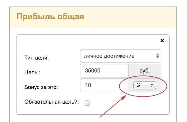 Возможность указания процентов в U-ON.Travel