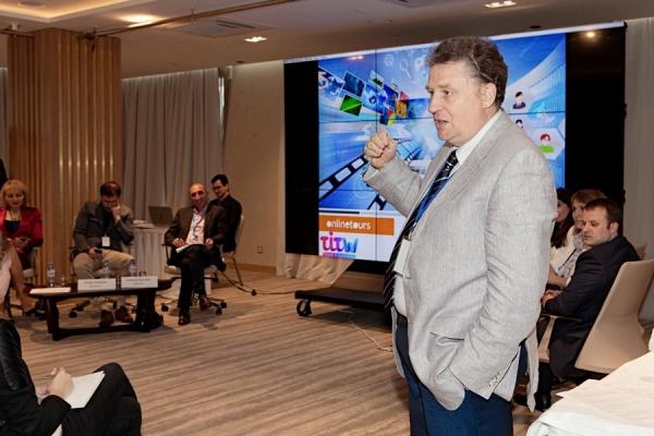 Александр Преображенский, модератор панельной дискуссии Турбизнес: комплексный взгляд / Фото: TRN