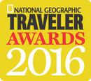 national geographic traveler awards 2016 logo