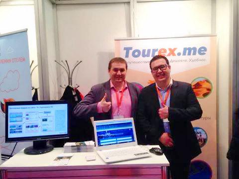 Tourex.me: генеральный директор Илья Отькало, директор по развитию Михаил Айзенштат