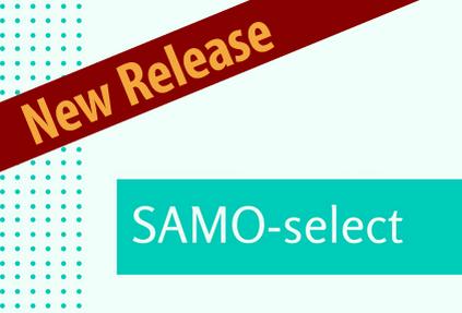 Новый релиз SAMO-select
