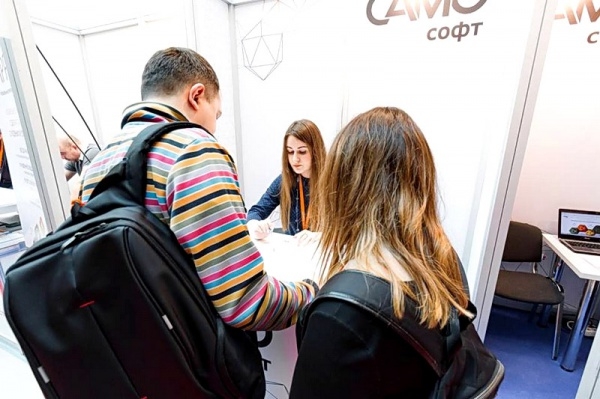 Менеджер по работе с клиентами САМО-Софт Марина Капралова