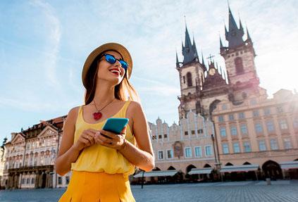 Прага запустит для туристов новое мобильное приложение