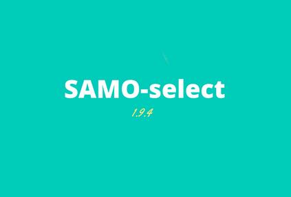 SAMO-select 1.9.4