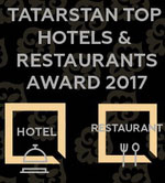 tatarstan top hotels & restaurants award 2017 logo