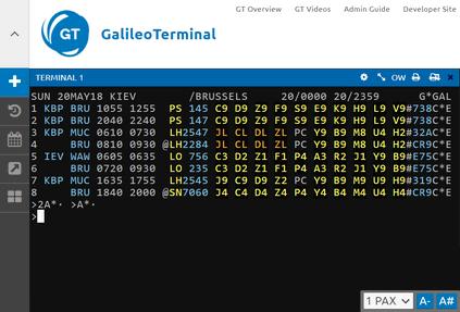 Представлен обновленный интерфейс GalileoTerminal
