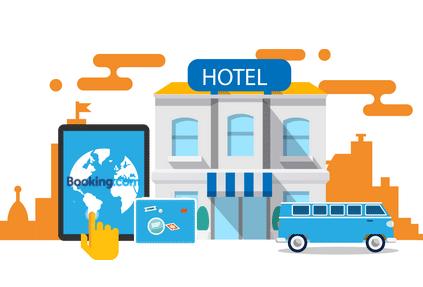 Контур.Отель интегрировался с Booking.com