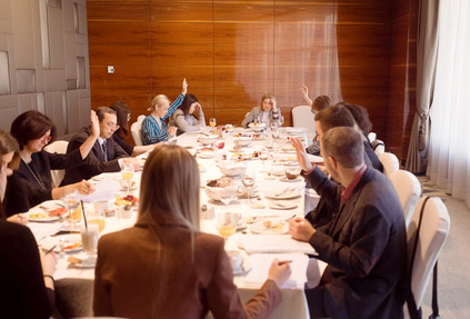 В отеле Lotte Hotel Moscow состоялся завтрак организационного комитета Russian Hospitality Awards