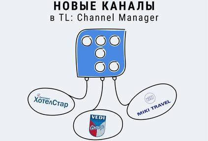 В TravelLine: Channel Manager появились новые каналы продаж